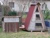 Kleintierbetreuung - Kaninchenbehausung